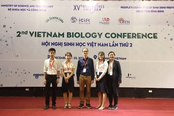 """""""TEAM-FIGHT TATICS"""" OF TTU SCHOOL OF BIOTECHNOLOGY AT 2ND VIETNAM BIOLOGY CONFERENCE HAS SUCCESSFULLY ENDED"""
